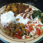 Ugali, Coconut Beans, and other Tanzanian Food